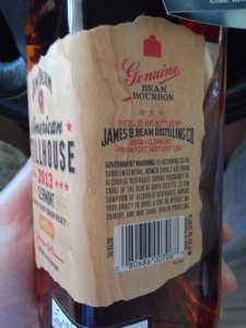 Woody Two Shoes 3 James Beam Distilling Bottle Label 225x300