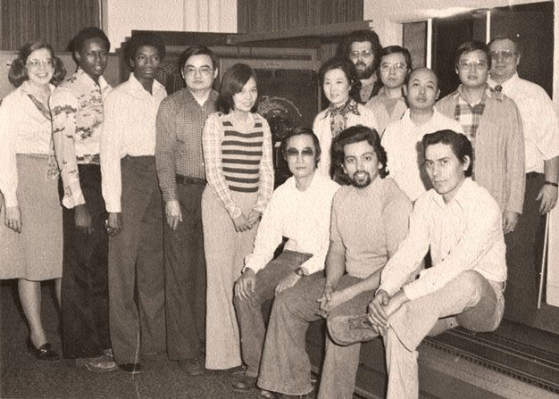 Cushing Production Team in the 1970's Decade