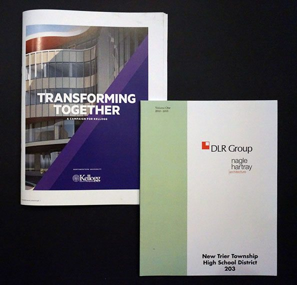 Custom Booklets Printed for DLR Group and Kellogg