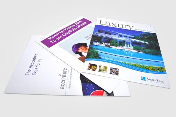 Booklets Printed at Cushing