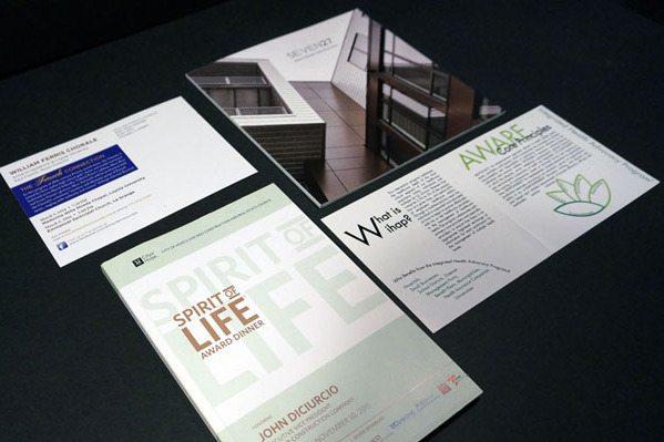 Printed Brochures Montage
