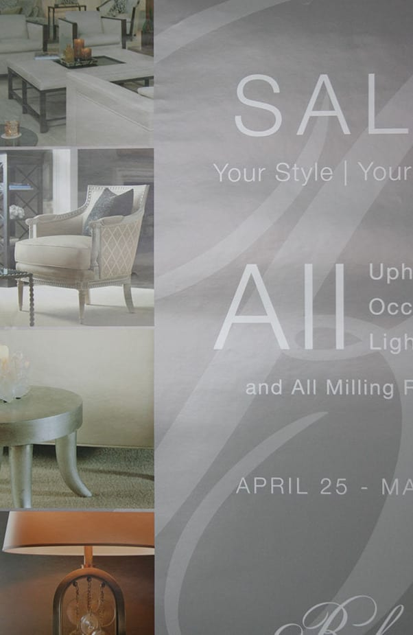 Retail Posters Attract Customers