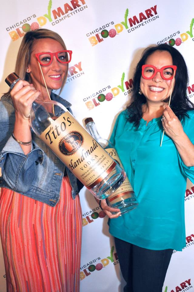Step & Repeats Attract Partygoers at Bloody Mary Celebration