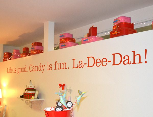 Recent News Whimsical Candy Wall Graphic