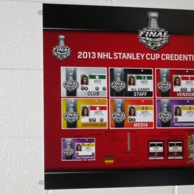 NHL Printed Media Board