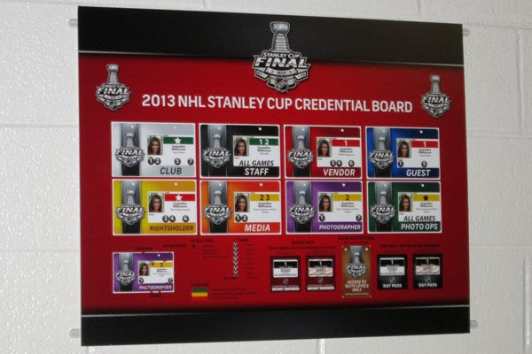 NHL Printed Media Board