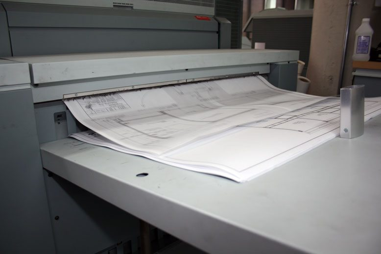 Large format bond prints digital bond printing services in they actually used a wet process and rapid drying to present the white line blue back drop drawings that so many people picture in their heads when they malvernweather Gallery