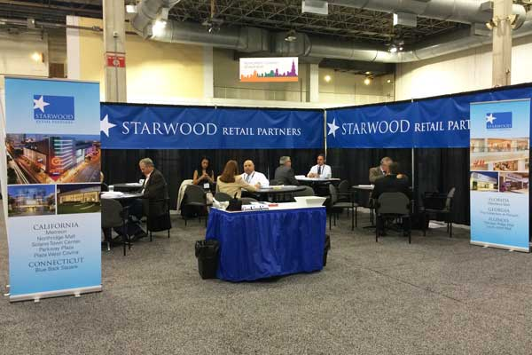 Starwood Banner Stands at Conference