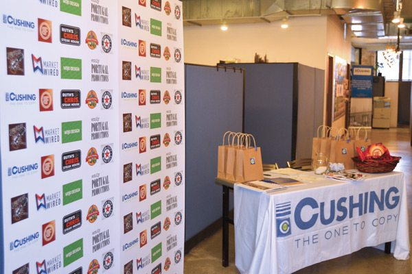 Step and Repeat Enhances Our Cushing Open House
