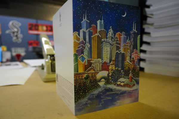Cushing Custom Holiday Greeting Card