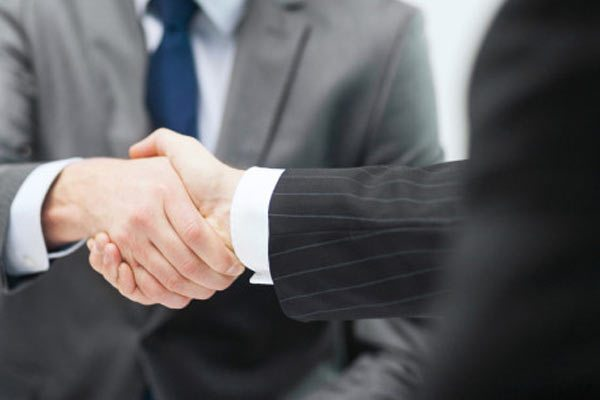 Salespeople-Handshaking