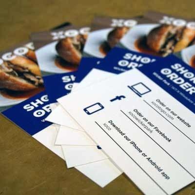 Xoco Takeaway Restaurant Flyer