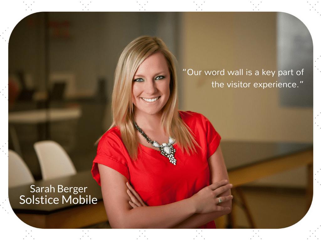 Sarah Berger Solstice Mobile Marketing Strategist