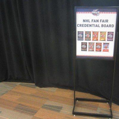 NHL Credential Board Fan Fair