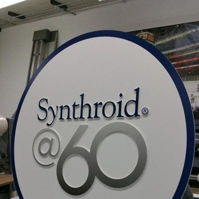 Die Cut Signage Generated for Synthroid