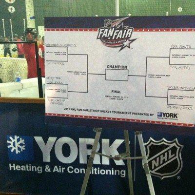 NHL Fan Fair Signage