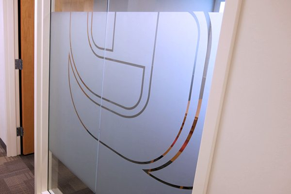 Privacy Vinyl for Conference Room