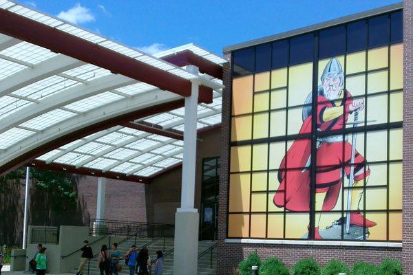 Window Graphics Installed at Schaumburg High School