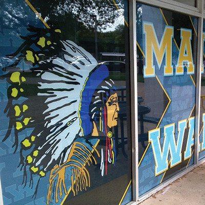 Maine West Window Graphics