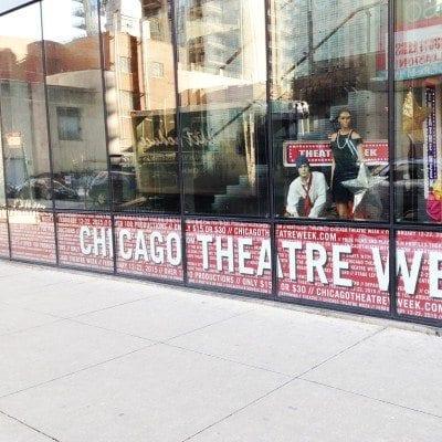 Window Graphics League of Chicago Theatres