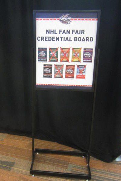 NHL Credential Board