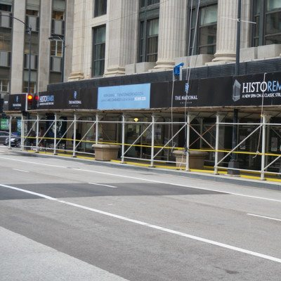 Barricade Graphics Construction Signage