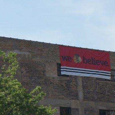 Blackhawks Banner