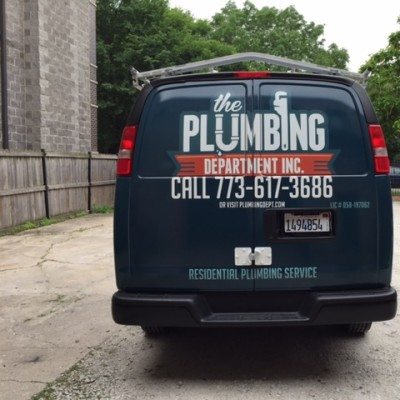 Plumbing Vehicle Wrap