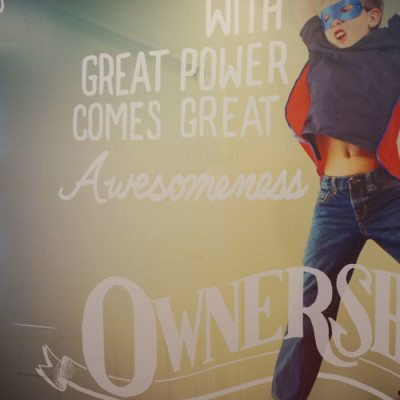 Ownership Messaging Wall Graphic