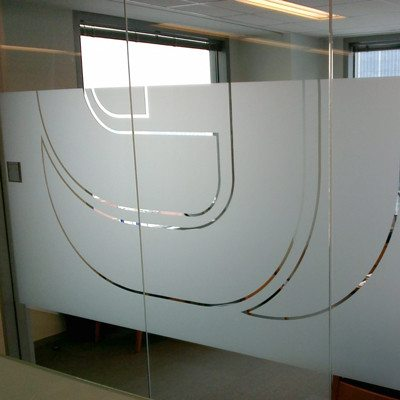 Privacy Office Vinyl Installed at Swett and Crawford