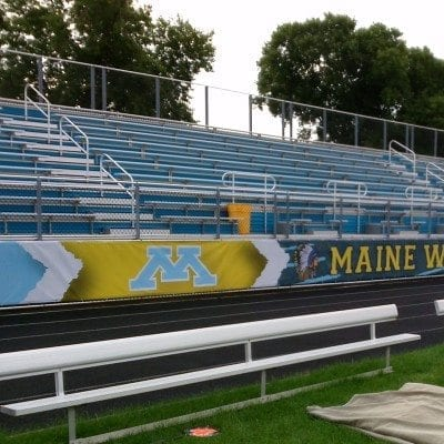 Bleacher Graphic Maine West