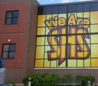Schaumberg High School Window Graphics