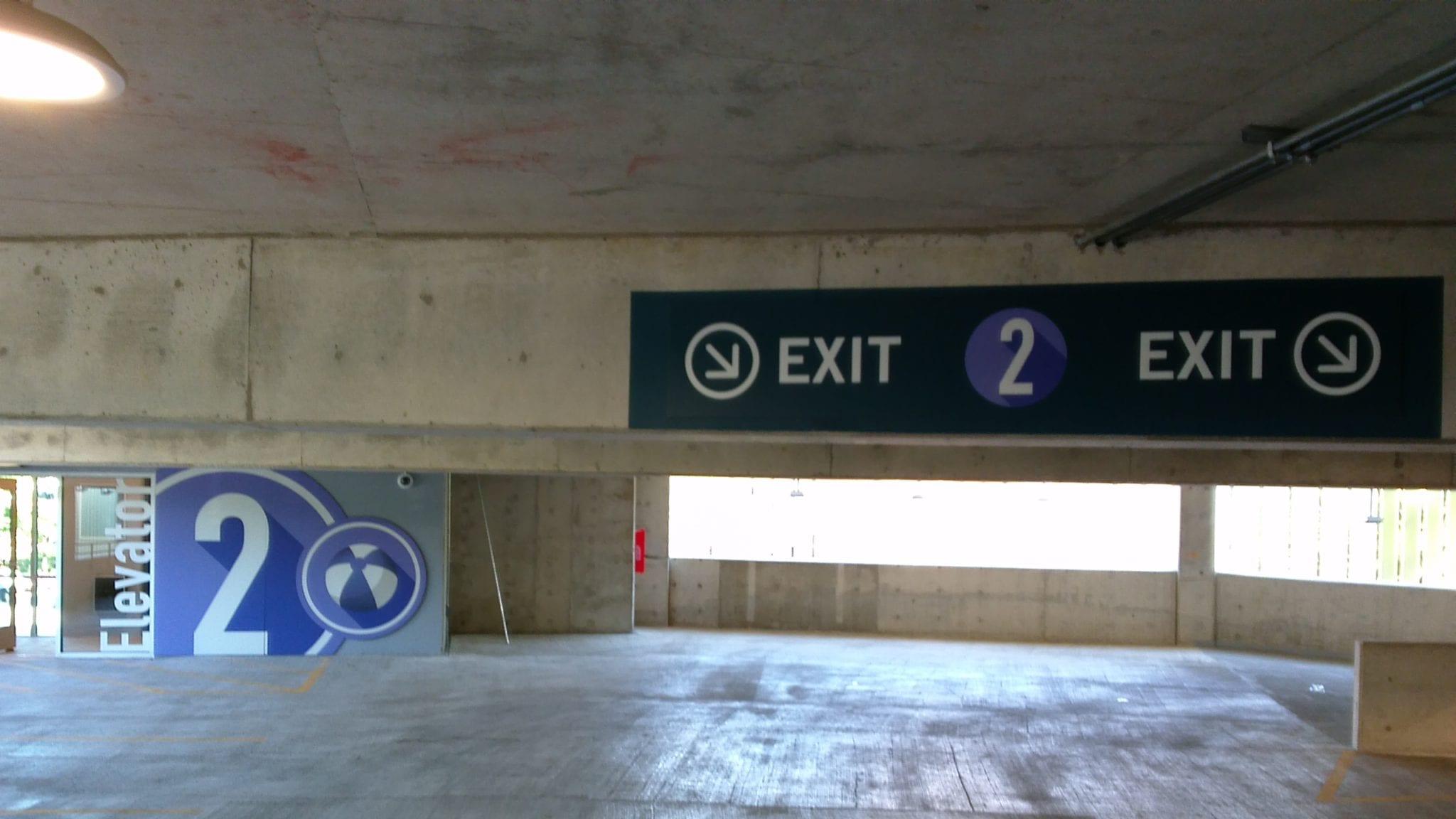 Parking Garage Installation Cushing