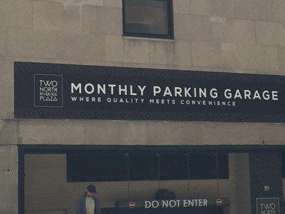 Parking Garage Graphic
