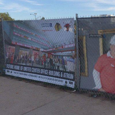 McHugh Fence Banner United Center