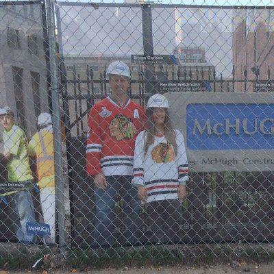 McHugh Banner at United Center