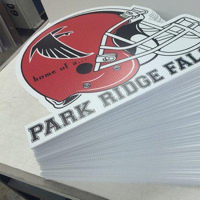 Park Ridge Falcons Print Graphics Cut Out
