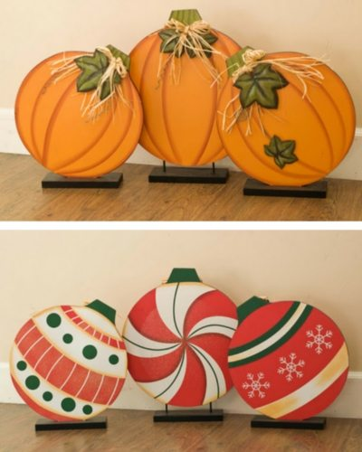 7 Unique Holiday Printing Ideas 6 Die Cut Decorations
