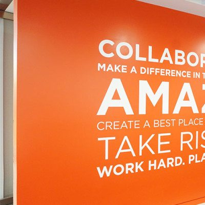 Fin Partners Wall Graphics