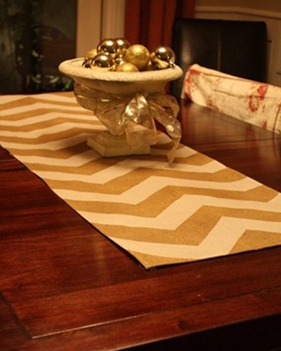 7 Unique Holiday Printing Ideas 8 Table runner