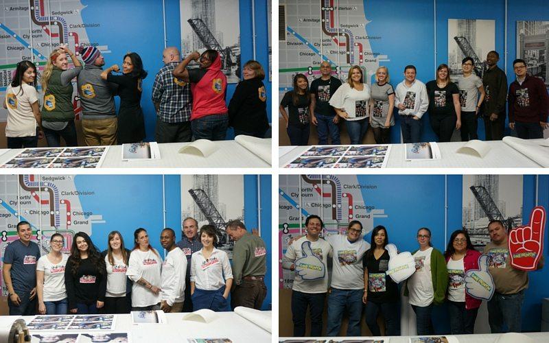Customer Service Week Team Collage