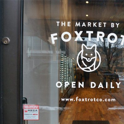 Window Graphics Installed At Foxtrot