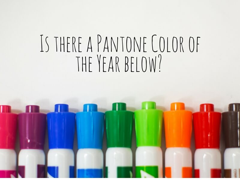 Pantone Color of The Year Markers