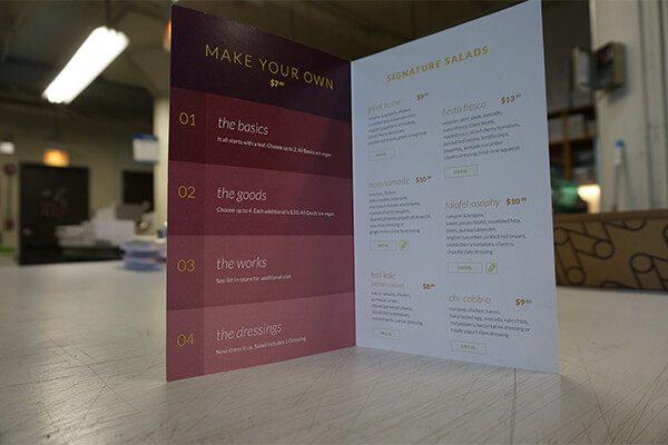 Be Leaf Restaurant Menu
