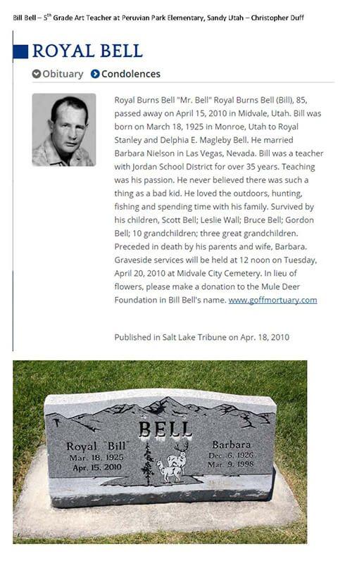 Bill Bell Obituary