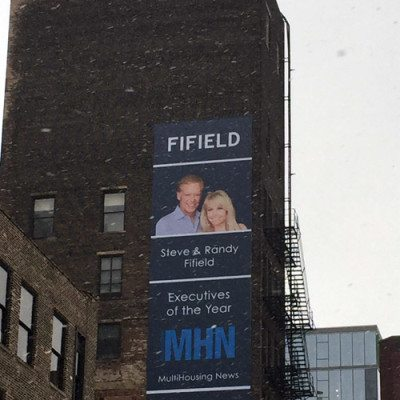 Fifield Large Exterior Banner