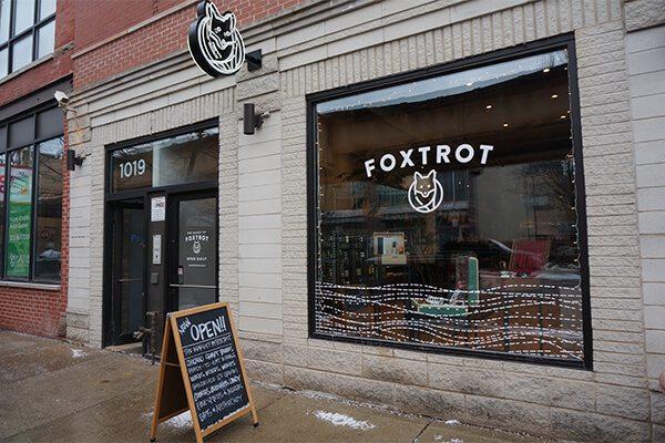 Foxtrot's Storefront Window Graphics