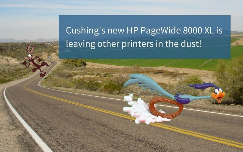 Road Runner or PageWide?