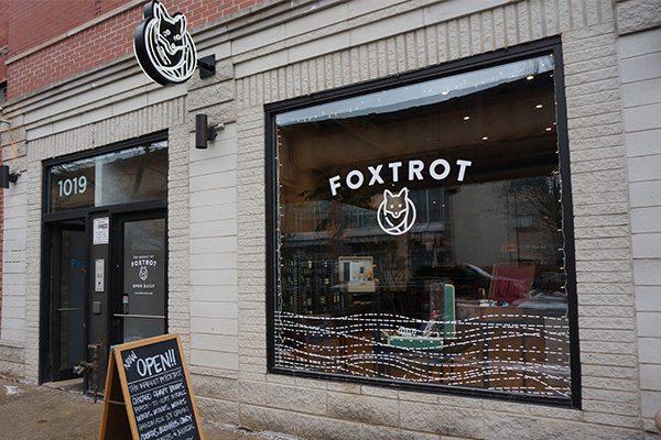 Foxtrot Storefront Window Graphics