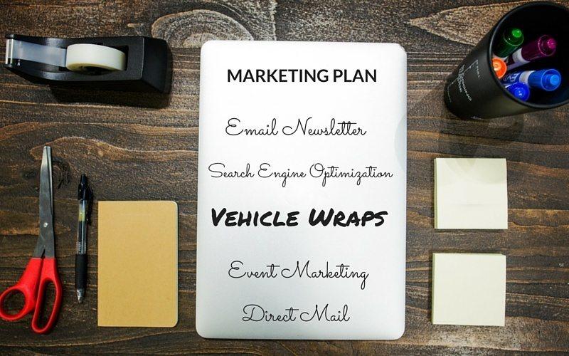 Marketing Plan Vehicle Wrap Blog